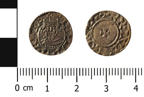 WMID-69B593: Early Medieval coin: penny of Edward the Confessor