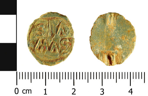 WMID-746CF7: A Roman disc brooch