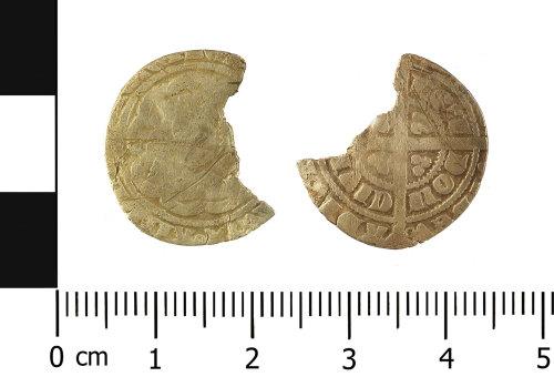 WMID-AF23AD: Medieval coin: half groat of Eedward III