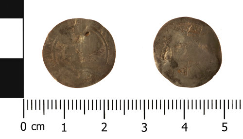 WMID-CBF27E: Post Medieval Coin: Threepence of Elizabeth I