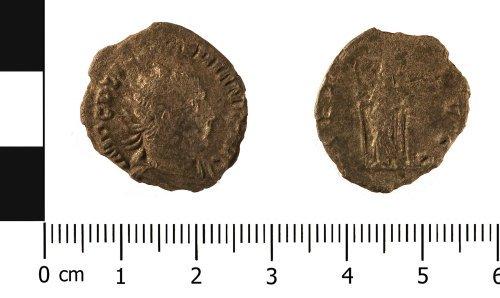 WMID-15C692: Roman coin: radiate of Valerian I