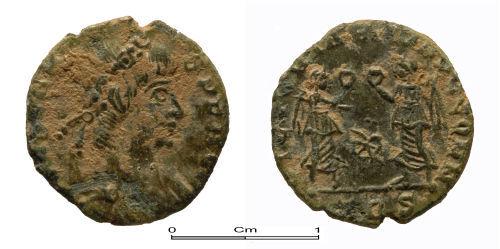 PUBLIC-7A93D7: Roman copper alloy coin