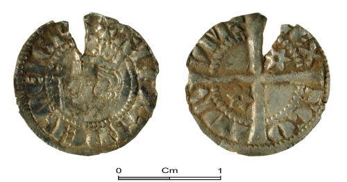 PUBLIC-4F1933: Medieval Coin:Half Penny of Alexander III