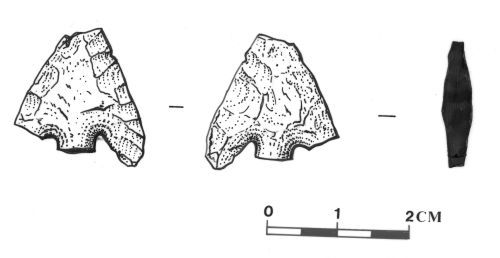 SOMDOR286: Bronze Age Barbed and Tanged Arrowhead