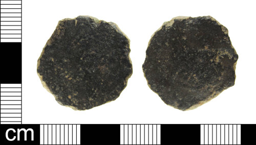 ESS-061FE7: Roman coin: Dupondius or As of unknown ruler