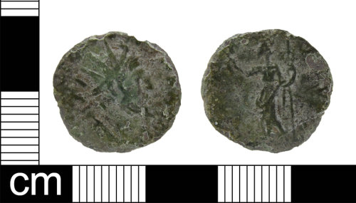 ESS-11059A: Roman coin: radiate of uncertain issuer