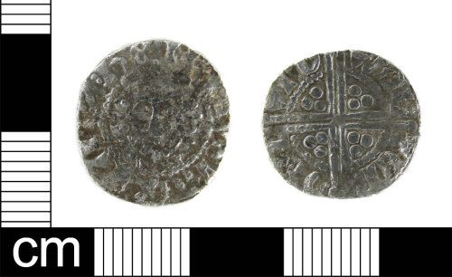 ESS-11808E: Medieval Coin: silver penny of Henry III