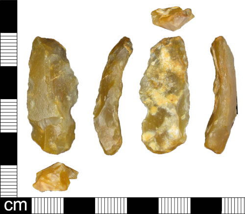 ESS-1EF776: Lithic flake of probable Bronze Age date