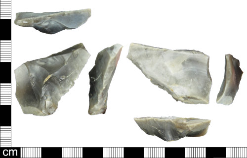 ESS-1F6B9C: Lithic flake of probable late Neolithic to early Bronze Age date