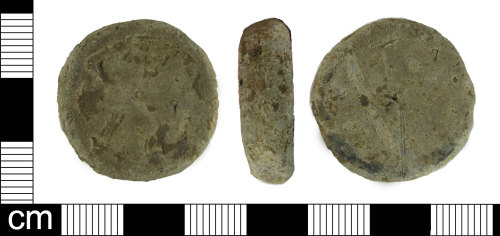 ESS-2C5615: Post medieval lead weight