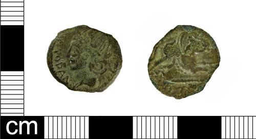 ESS-2FD106: Iron Age Goin: Gallo Belgic copper-alloy unit of the Meldi