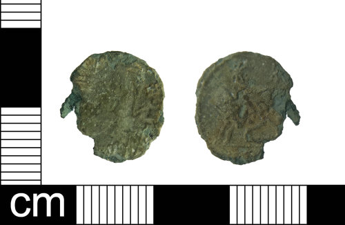ESS-4B212E: Roman coin: nummus of House Constantine