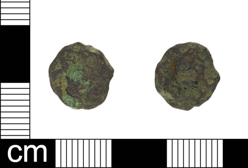 ESS-580DDF: Roman coin (possibly)