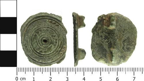 ESS-7B349A: Roman copper-alloy disc brooch