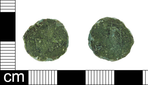 ESS-891FE4: Roman coin: barbarous radiate copying a coin of Tetricus I