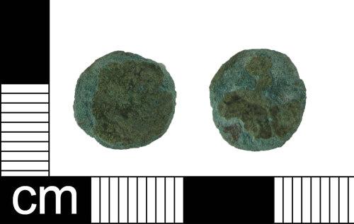 ESS-895C57: Roman coin: barbarous radiate
