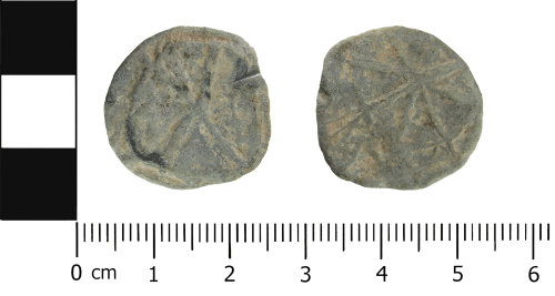 ESS-9174E8: Post medieval lead token