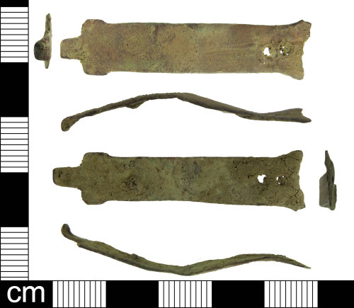 ESS-98FA4D: Copper-alloy post medieval book fitting