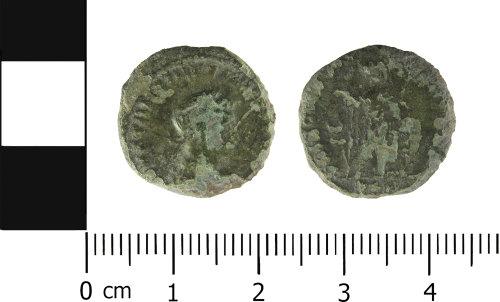 ESS-9CE626: Copper Alloy Nummus of House Constantine