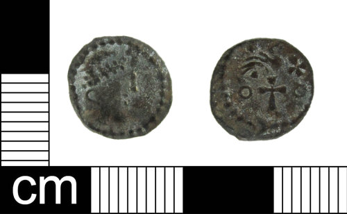 ESS-CB9279: Early Medieval coin: Sceat