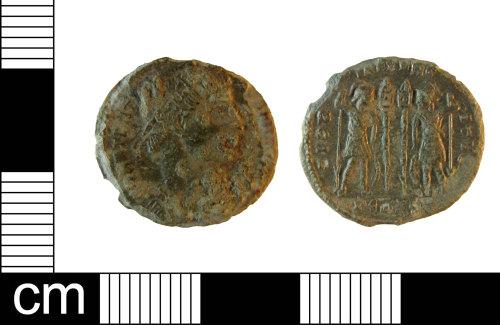 ESS-F3DC6B: Roman Copper alloy Nummus of Constantine I