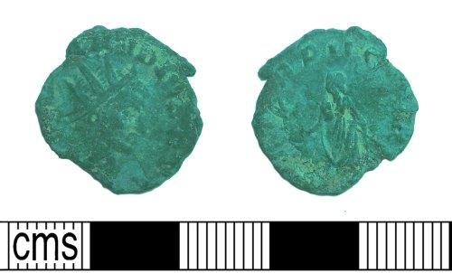 SUR-4C0FA9: Radiate of Claudius II