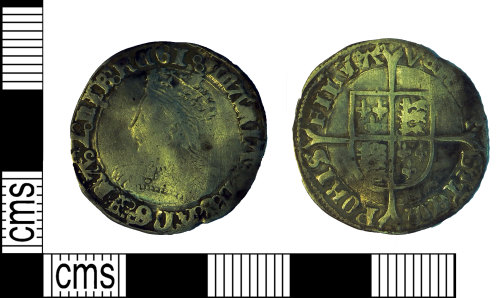 SUR-5BE9F7: Groat of Mary I