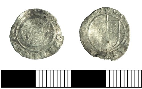 Details for coin type: Penny: Edward VI, Base silver, 1550
