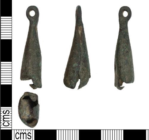KENT-1EABA5: Medieval copper alloy bell