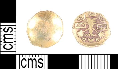 KENT-7C2EF6: A Cantiaci gold quarter stater