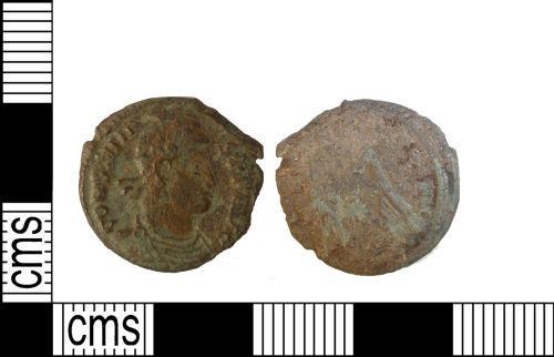 LANCUM-773650: Late Roman Nummus of Constantius II. AD347-348.