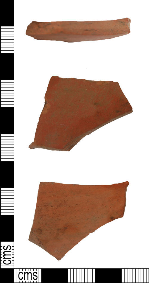 LANCUM-795274: Possibly 18th or 19th centuryAD pot fragment?