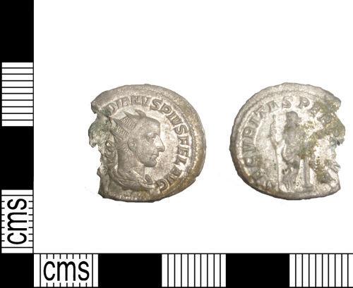 LANCUM-C82F17: Antoninianus of Gordian III