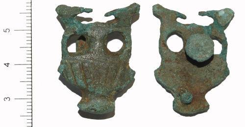 CAMHER-884BC4: Roman openwork mount