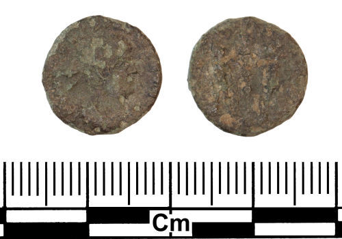 ESS-7295B7: Roman Coin : Nummus of the House of Constantine