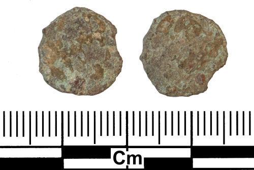 ESS-70A988: Roman Coin : Radiate or Nummus