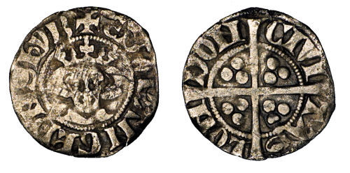 ESS-615614: Medieval Coin : Penny of Edward I