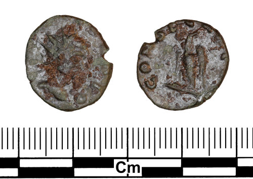 ESS-5DA3A8: Roman Coin : Radiate of Claudius II