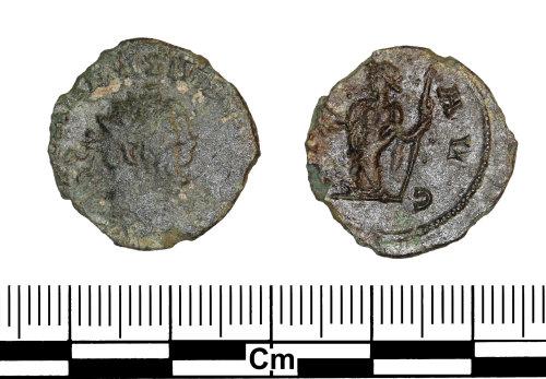 ESS-5EC0A7: Roman Coin : Radiate of Carausius