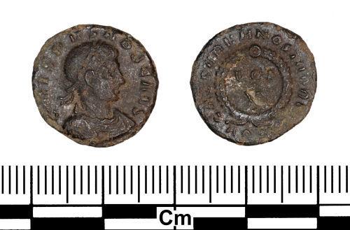 ESS-2299B0: Roman Coin : Nummus of Crispus