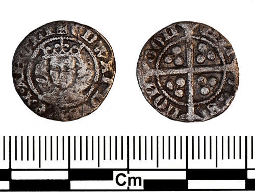 ESS-4C86F6: Medieval Coin : Penny of Edward III