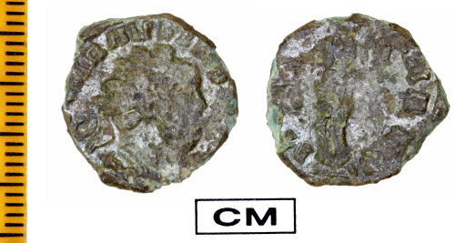 ESS-739051: Roman Coin : Radiate of Carausius