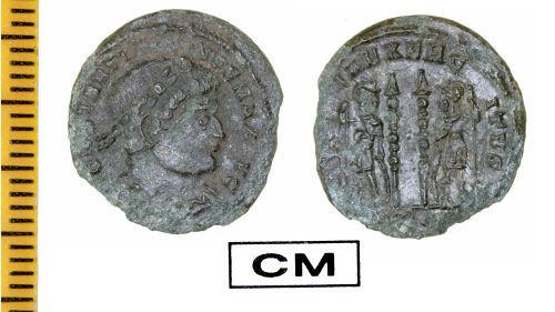 ESS-739A98: Roman Coin : Nummus of Constantine I