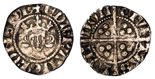 ESS-C06212: Medieval Coin : Penny of Edward I