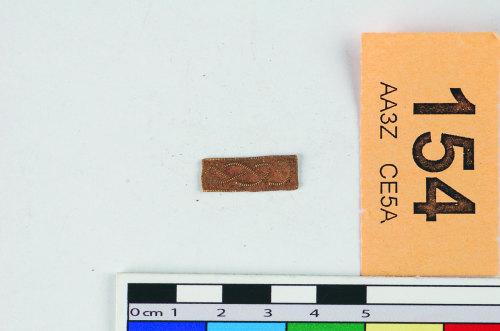 STAFFS-048392: A gold filigree insert