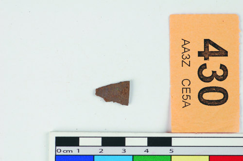 STAFFS-BE6058: A copper alloy fragment