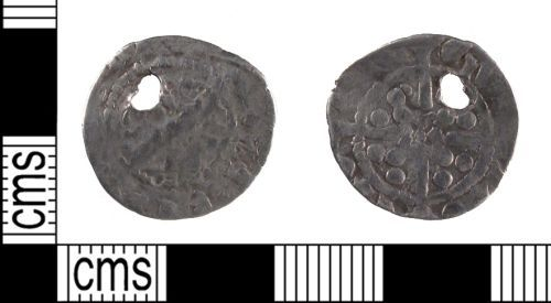 SUSS-08DDA4: Medieval Coin: Silver Long Cross Penny of Uncertain Issuer