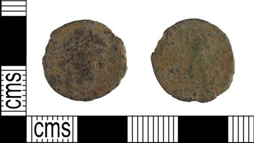 SUSS-13F333: Roman nummus, Probably of the House of Constantine