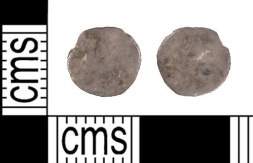 SUSS-764C08: Iron Age Coin: Silver Minim Possibly of Tincomarus