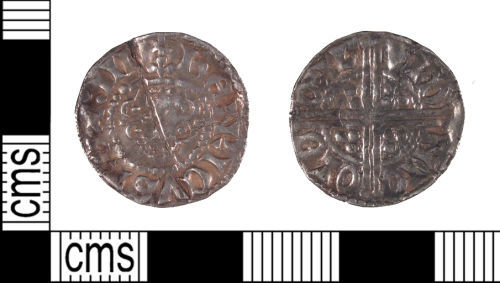 SUSS-996237: Medieval Coin: Silver Voided Long Cross Penny of Henry III